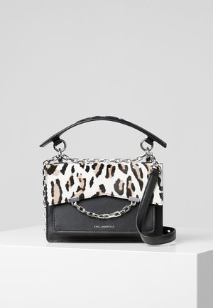 Handbag - black/white