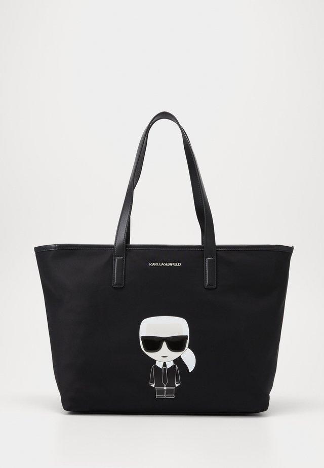 IKONIK TOTE - Håndtasker - black