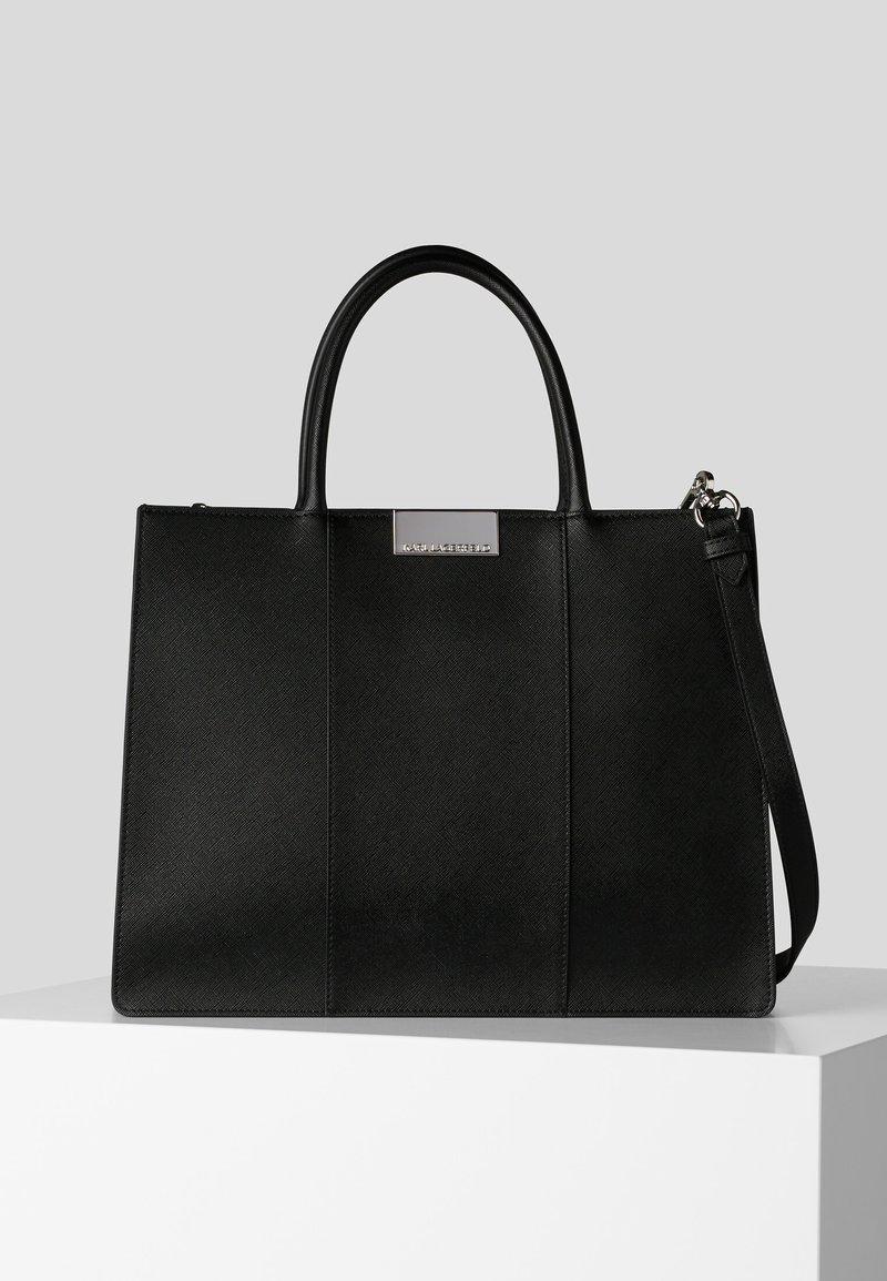 KARL LAGERFELD - Shopping bag - black