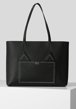 STONE CHOUPETTE - Shopping bag - black