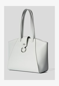 KARL LAGERFELD - PEBBLE - Shopping bag - white - 1