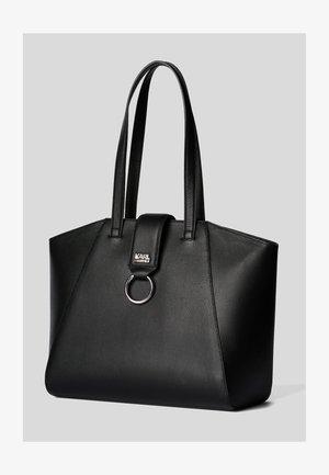 PEBBLE - Tote bag - black