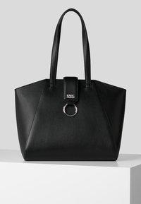 KARL LAGERFELD - PEBBLE - Shopping bag - black - 0