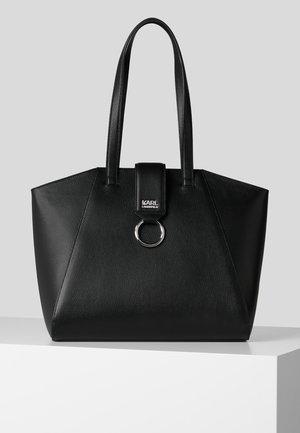 PEBBLE - Shopping bag - black