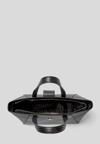 KARL LAGERFELD - PEBBLE - Shopping bag - black - 3