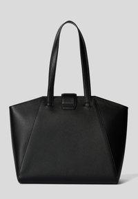 KARL LAGERFELD - PEBBLE - Shopping bag - black - 2