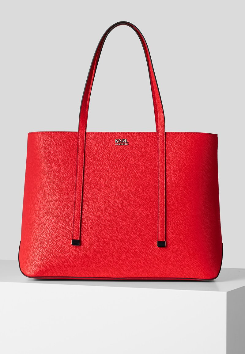 KARL LAGERFELD - Shopping bag - a524 red fire
