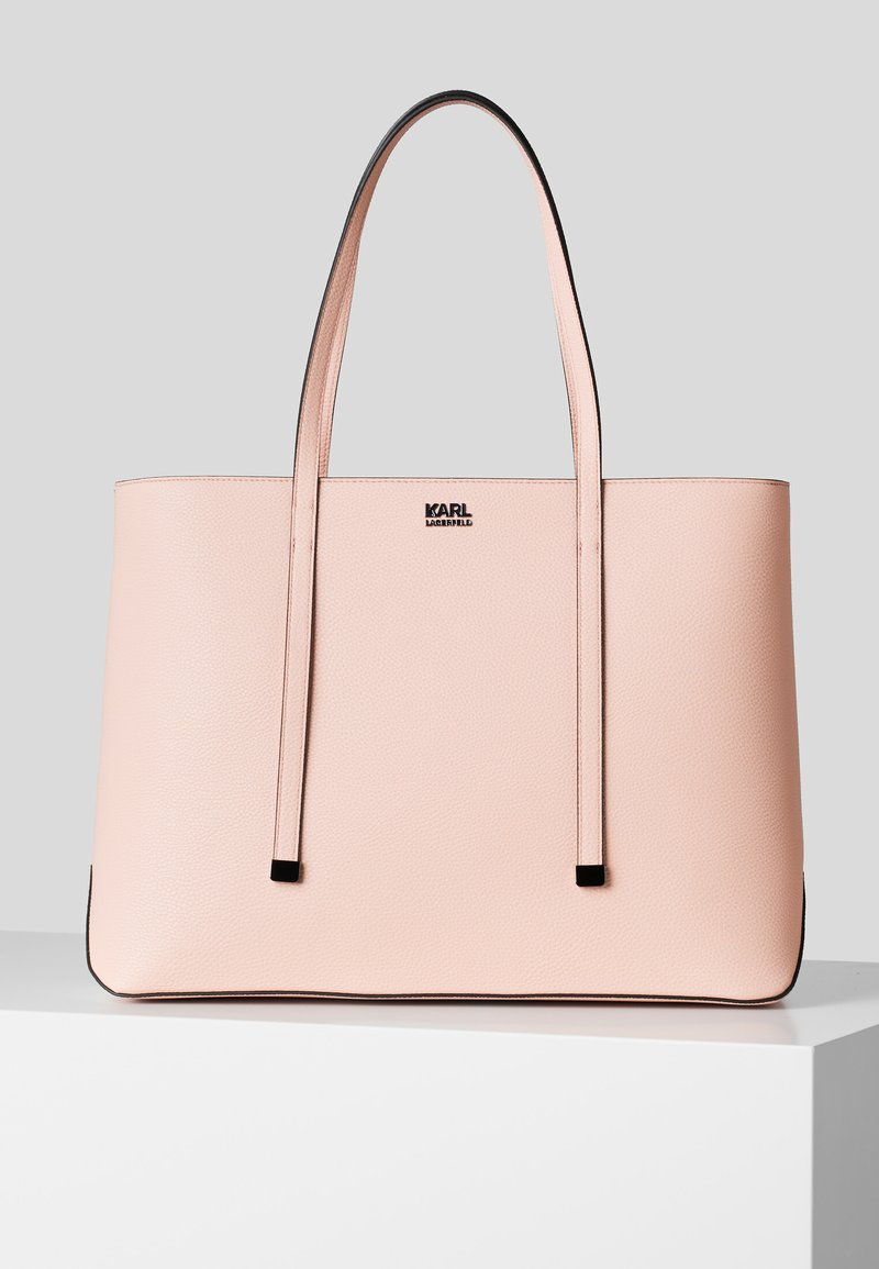 KARL LAGERFELD - Shopping bag - a508 pink pearl
