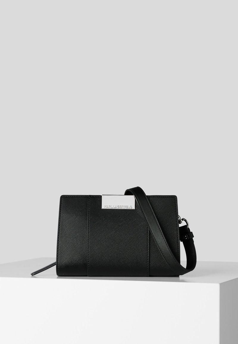 KARL LAGERFELD - Borsa a tracolla - black