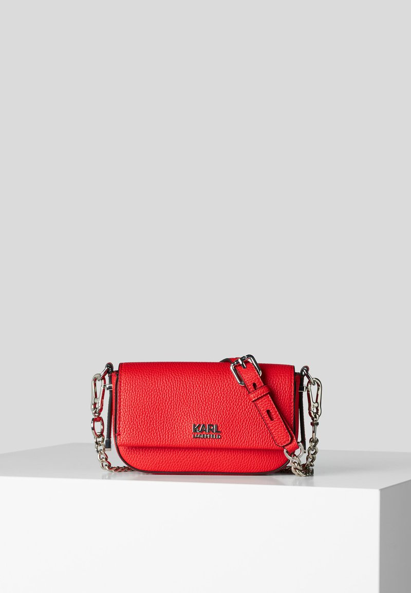 KARL LAGERFELD - Borsa a tracolla - a524 red fire