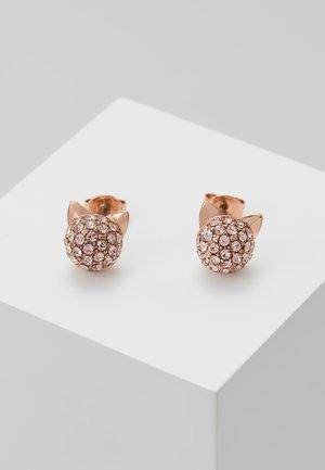 MINI  CHOUPETTE  - Boucles d'oreilles - rose