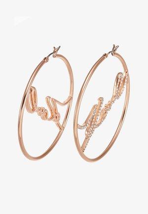 HOOP  - Earrings - rose gold