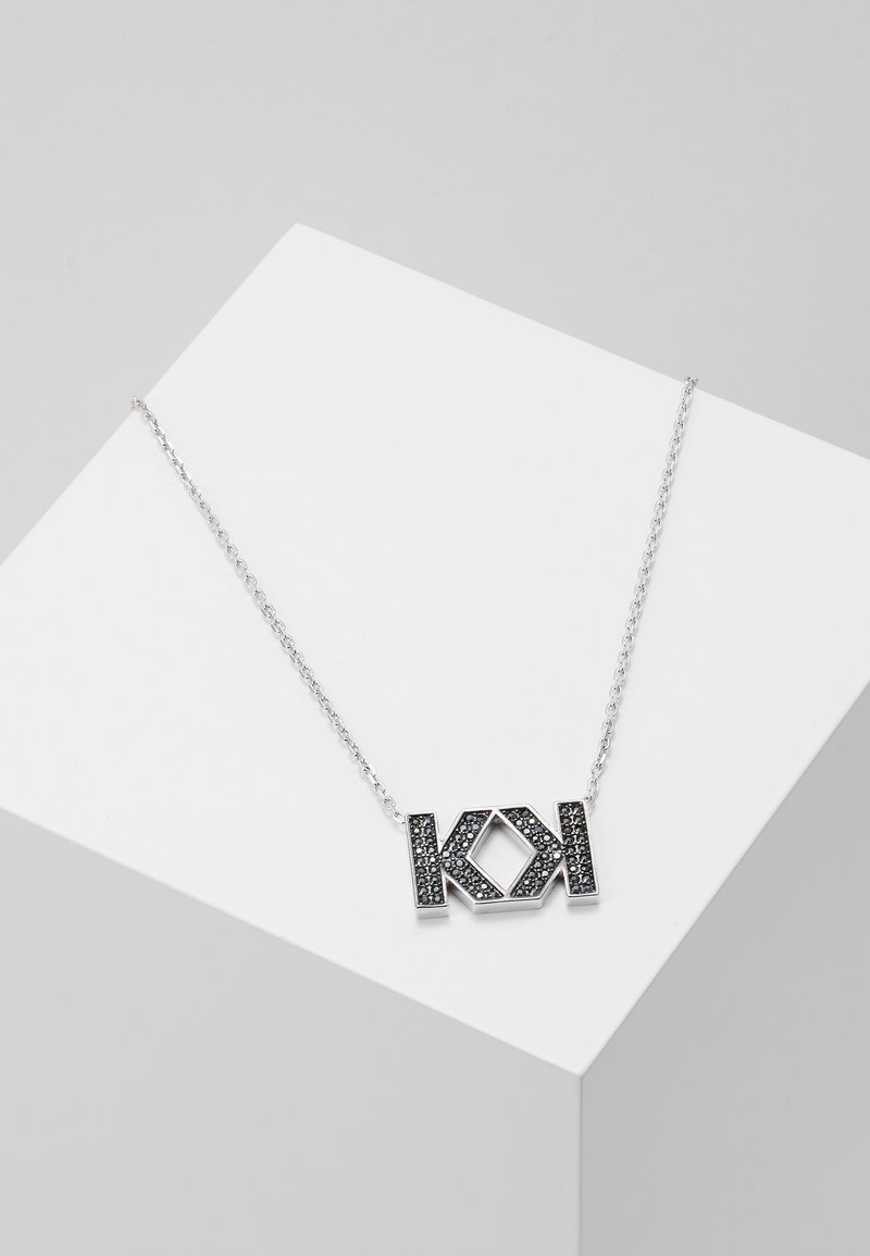 KARL LAGERFELD - DOUBLE  - Ketting - silver-coloured