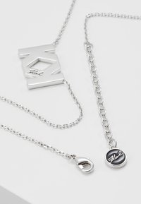 KARL LAGERFELD - DOUBLE  - Ketting - silver-coloured - 2