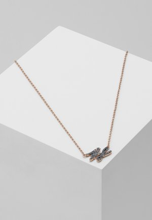 Necklace - rose gold-coloured/gun metal