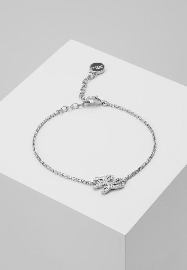 TINY SCRIPT LINE  - Armband - silver-coloured