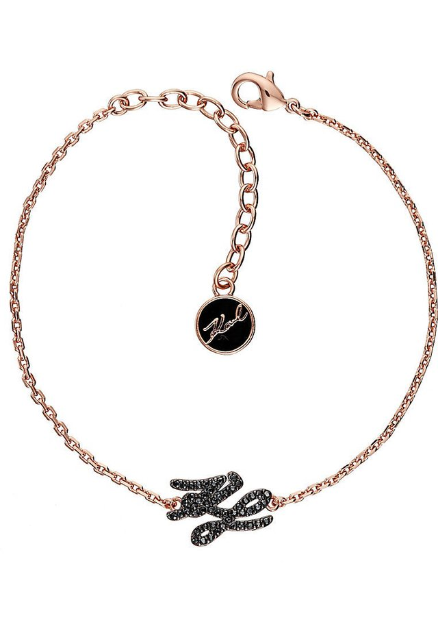 TINY SCRIPT LINE  - Armband - roségold