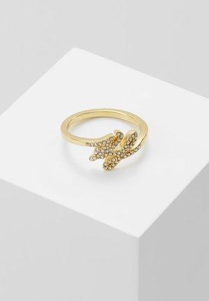 SCRIPT LOGO  - Ring - gold-coloured