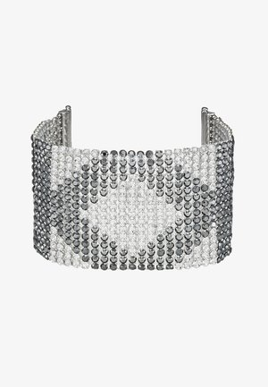 CRYSTAL MESH DOUBLE  - Bracciale - silver-colored