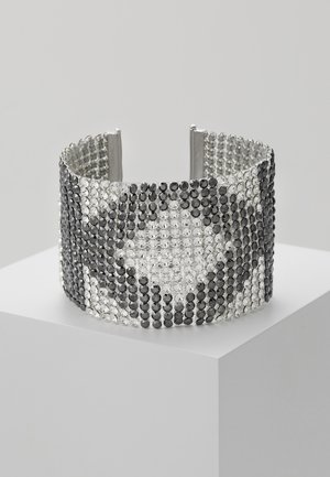 CRYSTAL MESH DOUBLE  - Armband - silver-colored