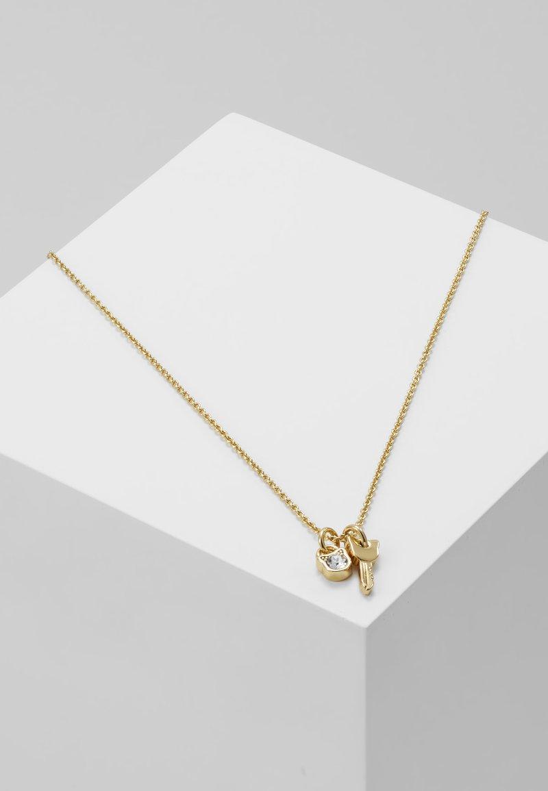 KARL LAGERFELD - MINI CHOUPETTE LOCK KEY CHARM  - Náhrdelník - gold-coloured