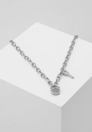 SMALL CHOUPETTE LOCK KEY  - Kaulakoru - silver-coloured