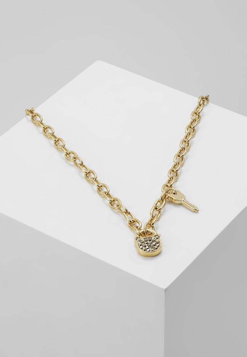 KARL LAGERFELD - SMALL CHOUPETTE LOCK KEY  - Náhrdelník - gold-coloured