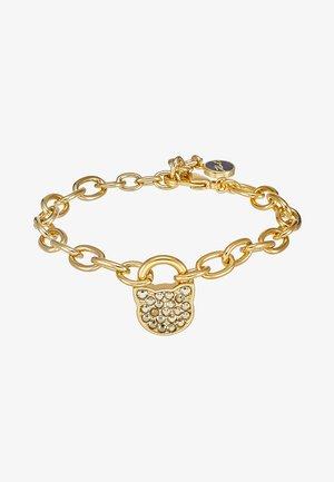 SMALL CHOUPETTE LOCK KEY  - Náramek - gold-coloured