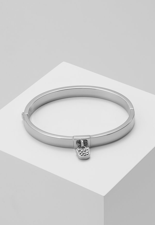 CHOUPETTE LOCK HINGE BANGLE  - Armband - silver-coloured