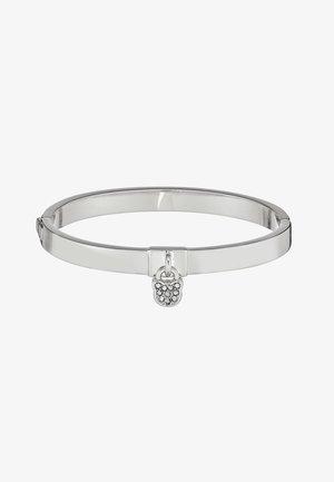 CHOUPETTE LOCK HINGE BANGLE  - Bracelet - silver-coloured