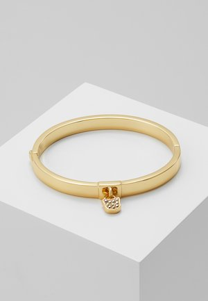 CHOUPETTE LOCK HINGE BANGLE  - Rannekoru - gold-coloured