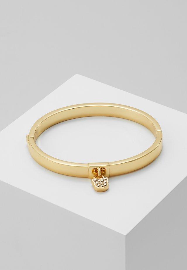 CHOUPETTE LOCK HINGE BANGLE  - Armband - gold-coloured