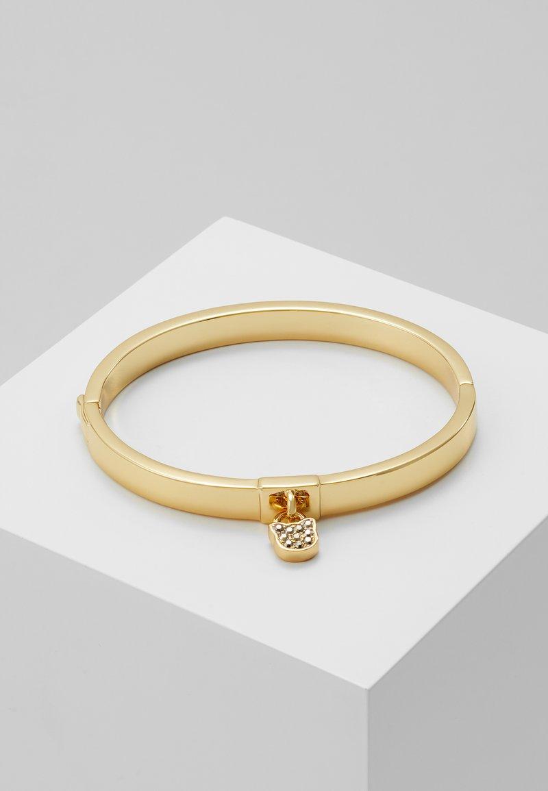 KARL LAGERFELD - CHOUPETTE LOCK HINGE BANGLE  - Bracelet - gold-coloured