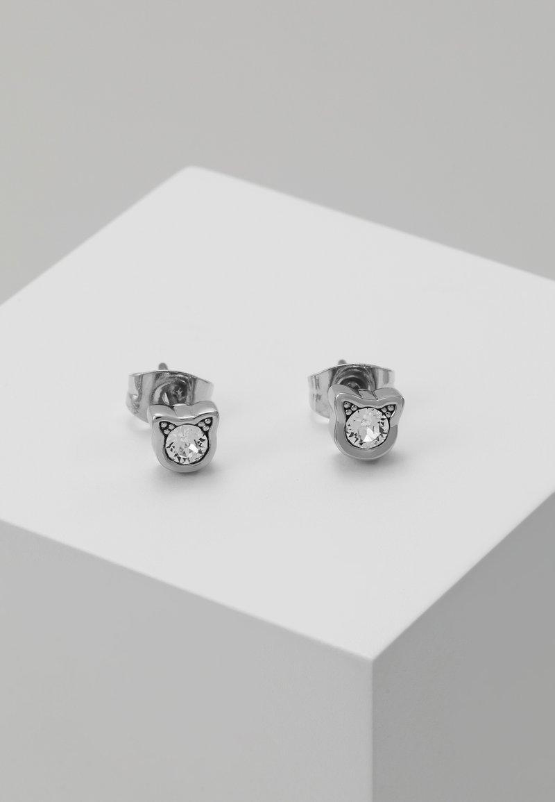 KARL LAGERFELD - MINI CHOUPETTE STUD  - Earrings - silver-coloured