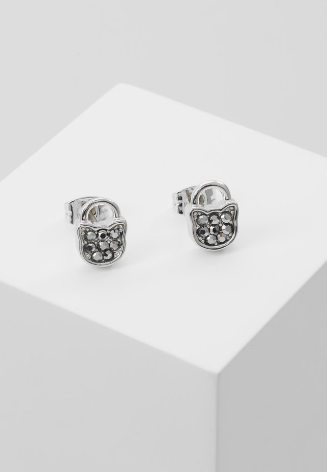 MINI CHOUPETTE LOCK  - Earrings - silver-coloured