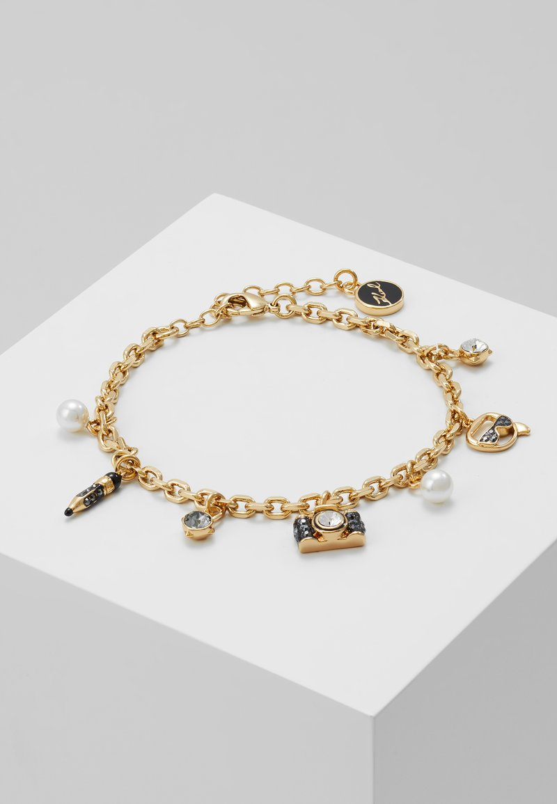 KARL LAGERFELD - MINI MULTI CHARMS  - Armband - gold-coloured
