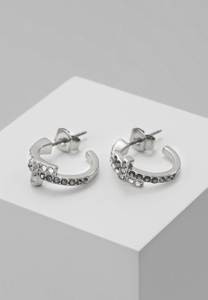 BOUCLE HUGGIE HOOP  - Earrings - silver-coloured
