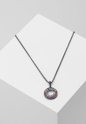ROUND - Necklace - gun metal