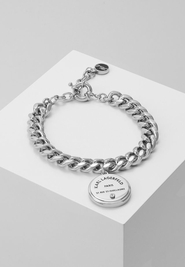 RUE ST. GUILLAUME CHAIN MEDALLION - Bracelet - silver-coloured