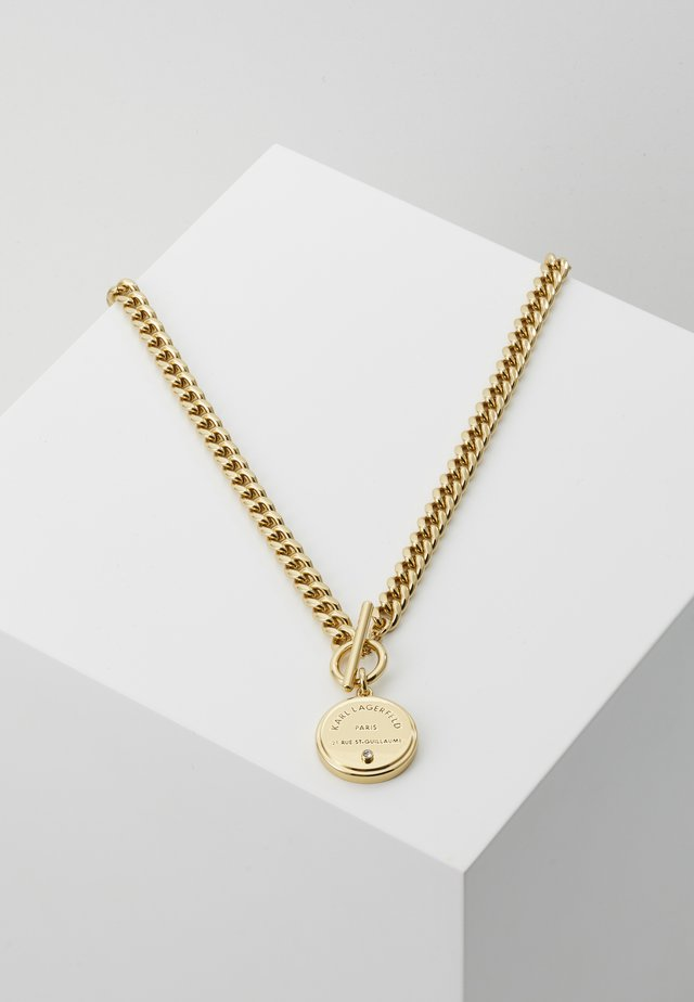 RUE ST. GUILLAUME CHAIN MEDALLION - Halskette - gold-coloured
