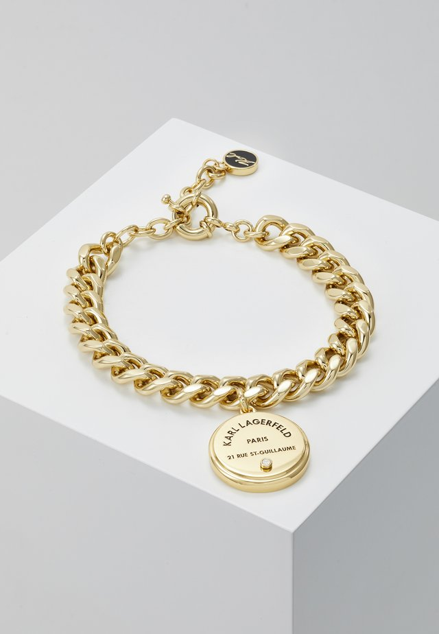 RUE ST GUILLAUME CHAIN MEDALLION - Bracciale - gold-coloured