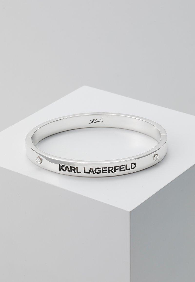 KARL LAGERFELD - RUE ST. GUILLAUME BANGLE - Bracelet - silver-coloured