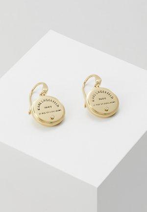 RUE ST GUILLAUME MEDALLION - Earrings - gold-coloured