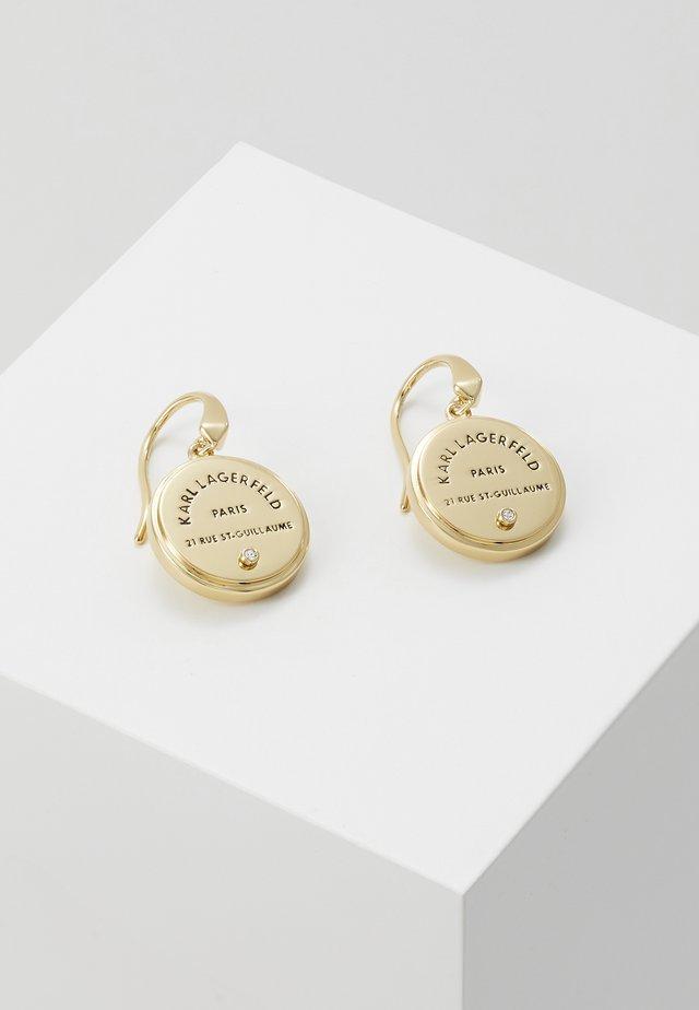 RUE ST GUILLAUME MEDALLION - Boucles d'oreilles - gold-coloured