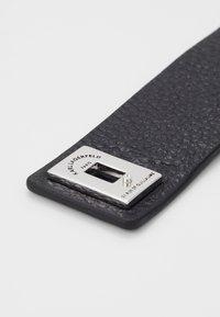 KARL LAGERFELD - RUE ST. GUILLAUME CUFF - Armband - black - 2