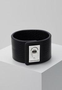 KARL LAGERFELD - RUE ST. GUILLAUME CUFF - Armband - black - 3