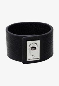 KARL LAGERFELD - RUE ST. GUILLAUME CUFF - Armband - black - 1
