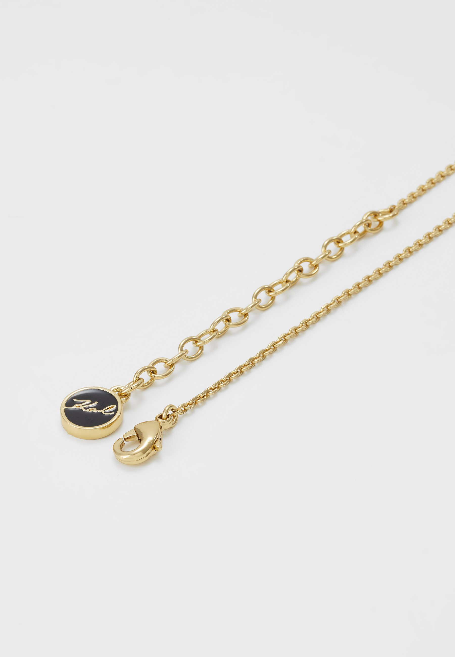 KARL LAGERFELD OPEN HEART & STAR - Halsband - gold-coloured