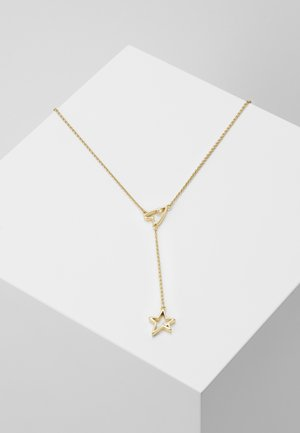 OPEN HEART & STAR - Collier - gold-coloured