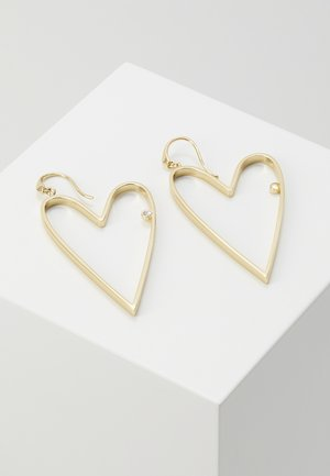 OPEN HEART LARGE - Boucles d'oreilles - gold-coloured